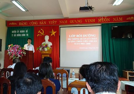 Quang Ninh: Cai tien He thong quan ly chat luong theo ISO 9001:2008 - Anh 1