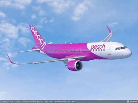 Peach Aviation dat mua 13 may bay A320 - Anh 1
