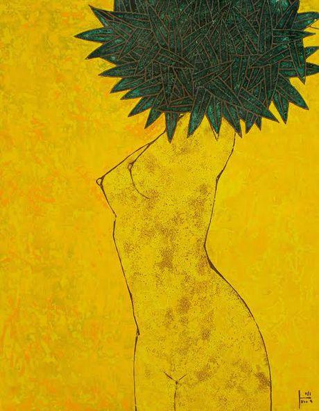 Ngam tranh son mai uu tu cua cac hoa sy Viet Nam - Han Quoc - Anh 4
