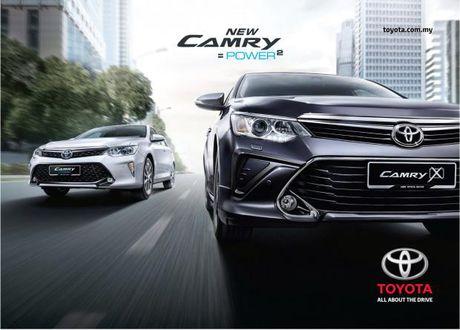 Toyota Camry sap ra mat phien ban 2017? - Anh 1