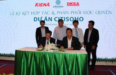 Danh Khoi A Chau phan phoi doc quyen du an Citisoho cua Kien A - Anh 1