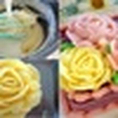 Lam bo hoa tu banh cupcake dep lung linh cho ngay 20/11 - Anh 11