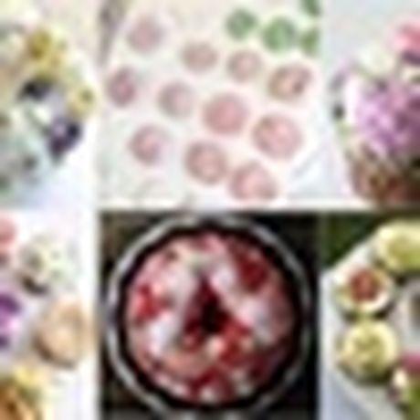 Lam bo hoa tu banh cupcake dep lung linh cho ngay 20/11 - Anh 12