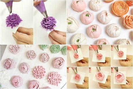 Lam bo hoa tu banh cupcake dep lung linh cho ngay 20/11 - Anh 3