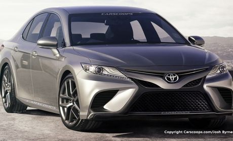 Toyota Camry hoan toan moi co den pha LED, dong co 2.0 turbo - Anh 2