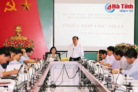 HDND thanh pho Ha Tinh ban mot so co che, chinh sach phat trien - Anh 1