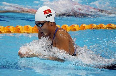 Anh Vien 'gianh ve' vao chung ket 200m tu do giai Chau A - Anh 1