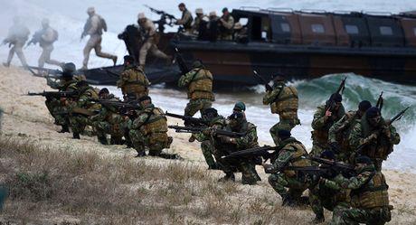 Lo Donald Trump 'thi tot', NATO bao dong 300.000 quan - Anh 1