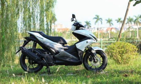 Yamaha NVX dau tien ve Ha Noi - Anh 2