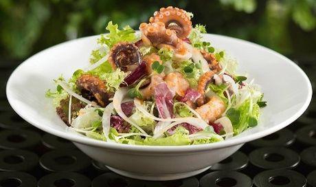 Salad bach tuoc de lam ma an cuc ngon - Anh 1