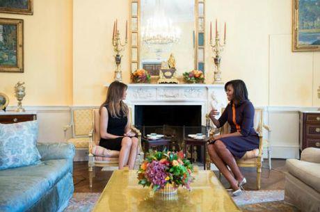 Cach day con cua phu nhan Donald Trump va Barack Obama - Anh 1