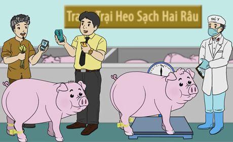 Nguoi Sai Gon dung smartphone tim cua hang ban thit sach - Anh 3
