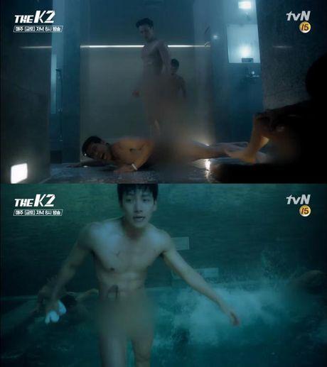 Ji Chang Wook tung kho tam khi dong canh hon chien 'nude' trong nha tam - Anh 2