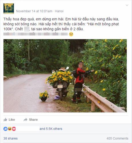 Nam phuot thu vat sach hoa da quy ben duong gay bao mang - Anh 2