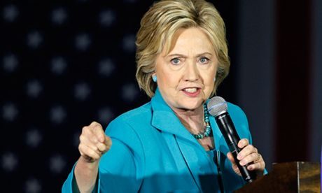 Tap chi My noi ba Clinton tuc toi, nem do dac trong dem bau cu - Anh 1