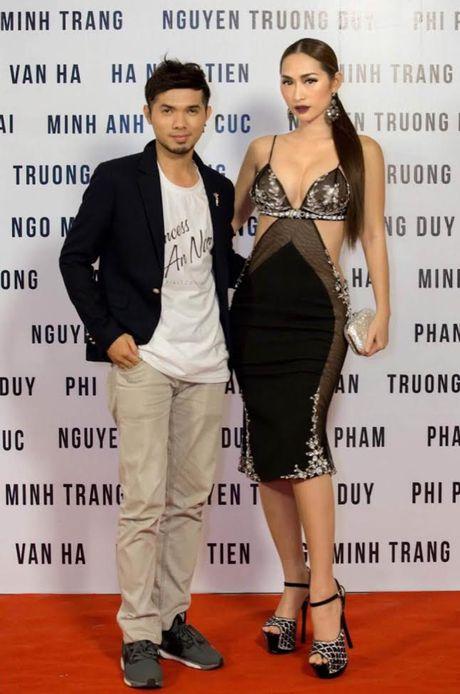 Quynh Thy goi cam doi lap Lan Khue kin dao tai su kien thoi trang - Anh 4