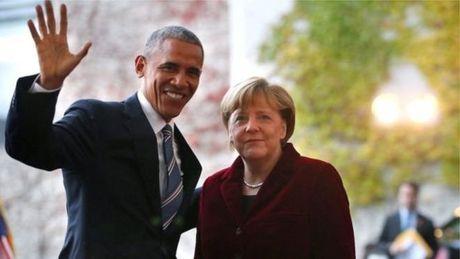 Ong Obama den Duc chia tay ba Merkel - Anh 1