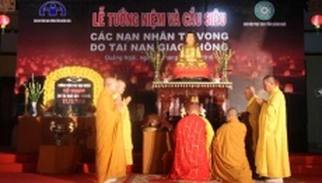 Quang Ngai tuong niem nan nhan tu vong do tai nan giao thong - Anh 1