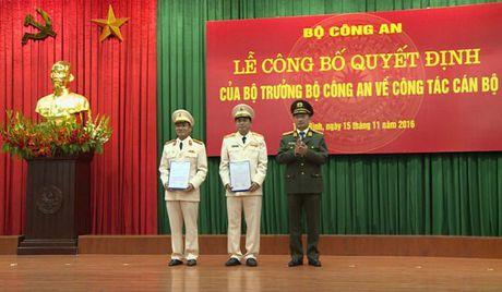 Bo nhiem, biet phai mot so tuong linh quan doi, cong an - Anh 1