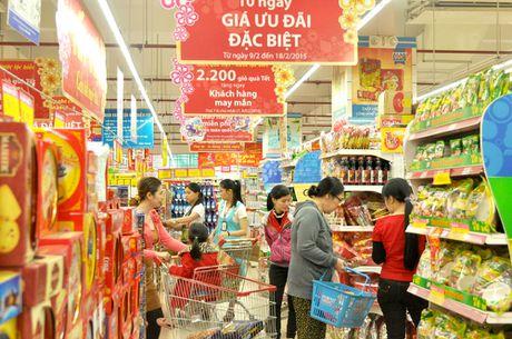 Luong hang hoa phuc vu Tet Dinh Dau tang 10% so voi nam truoc - Anh 1