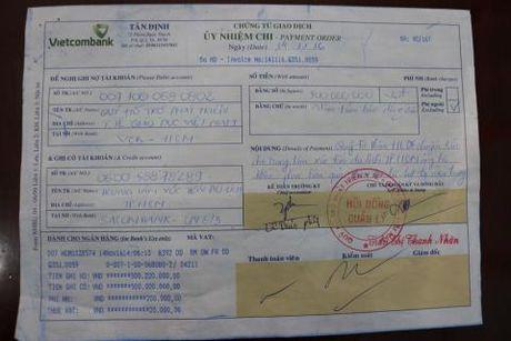 Ly Nha Ky gui 500 trieu dong cuu tro dong bao mien Trung - Anh 1