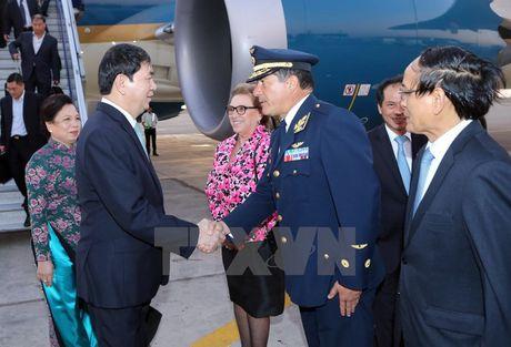 Hinh anh: Chu tich nuoc den Peru tham du APEC lan thu 24 - Anh 5