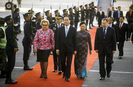 Hinh anh: Chu tich nuoc den Peru tham du APEC lan thu 24 - Anh 7