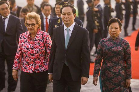 Hinh anh: Chu tich nuoc den Peru tham du APEC lan thu 24 - Anh 8