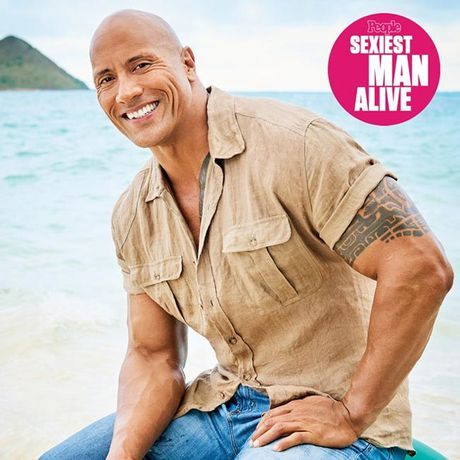 'Nam than' The Rock so huu co bap sexy nhat the gioi - Anh 1