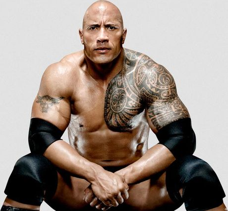 'Nam than' The Rock so huu co bap sexy nhat the gioi - Anh 4
