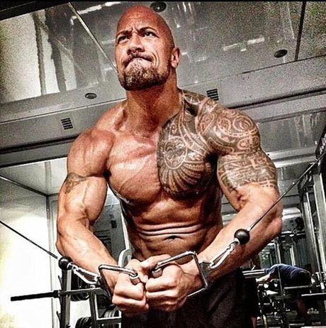 'Nam than' The Rock so huu co bap sexy nhat the gioi - Anh 7