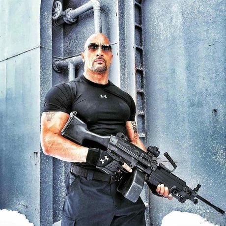 'Nam than' The Rock so huu co bap sexy nhat the gioi - Anh 9