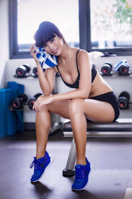 Do tap gym sao Viet: Ke sexy qua doi, nguoi lai kin nhu bung - Anh 1