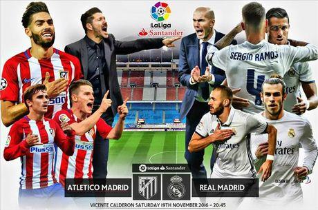 02h45 ngay 20/11, Atletico Madrid vs Real Madrid: Derby khong khoan nhuong - Anh 1