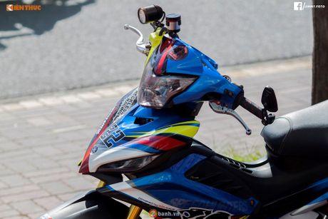 Yamaha Exciter 135 'sieu chat' cua dan choi mien Tay - Anh 3