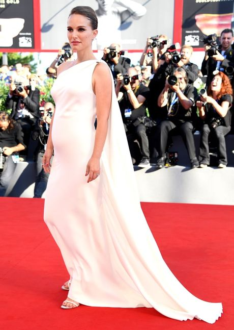 Thoi trang bau trang nha, tuyet dep cua Natalie Portman - Anh 2