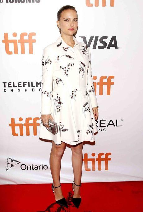 Thoi trang bau trang nha, tuyet dep cua Natalie Portman - Anh 3