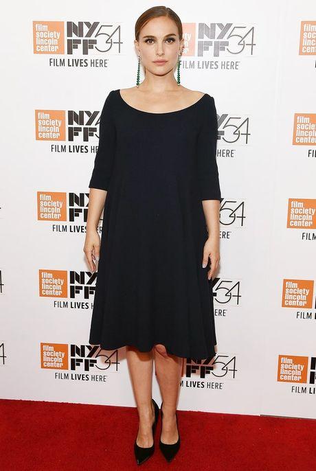 Thoi trang bau trang nha, tuyet dep cua Natalie Portman - Anh 6