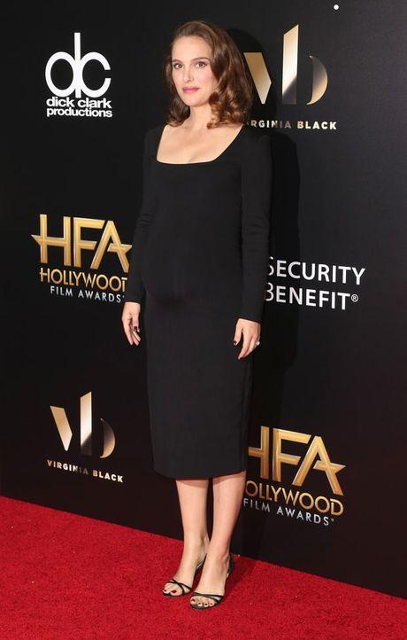Thoi trang bau trang nha, tuyet dep cua Natalie Portman - Anh 7