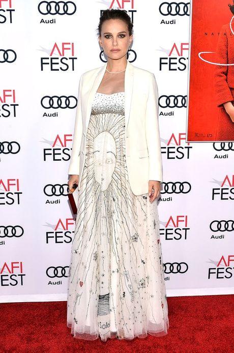 Thoi trang bau trang nha, tuyet dep cua Natalie Portman - Anh 8