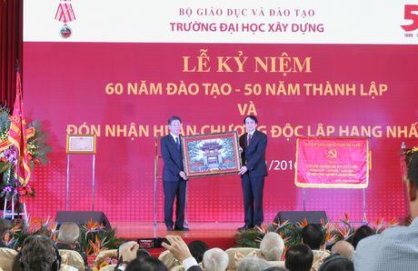 Truong Dai hoc Xay dung ki niem 50 nam thanh lap - Anh 3