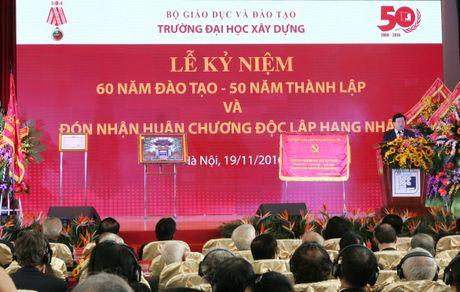 Truong Dai hoc Xay dung ki niem 50 nam thanh lap - Anh 4