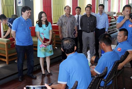 Dai su Viet Nam tai Myanmar tang tho cho thay tro HLV Huu Thang - Anh 4