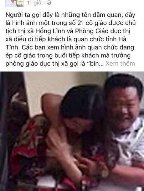 Bo TT-TT chi dao xu ly vu dang facebook bia dat ve giao vien - Anh 1