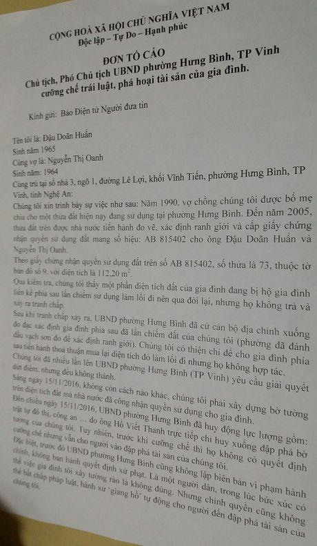 Chu tich, pho chu tich phuong bi to cuong che hanh xu 'cho bua' - Anh 2