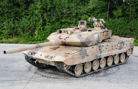 Duc - Phap ket hop phat trien xe tang Leopard the he moi doi pho Nga - Anh 1