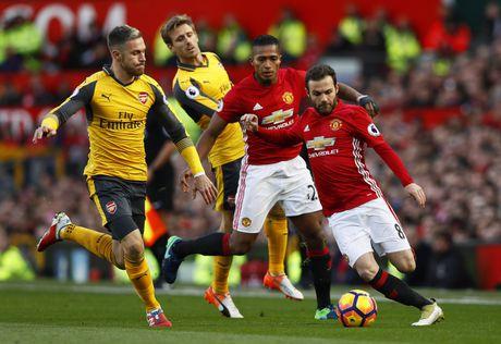 Man Utd danh roi chien thang truoc Arsenal - Anh 1