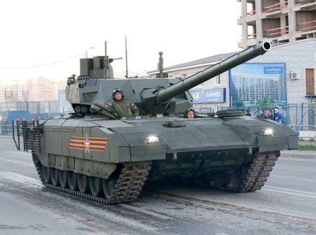 Xe tang Armata se duoc trang bi ca may bay khong nguoi lai - Anh 1