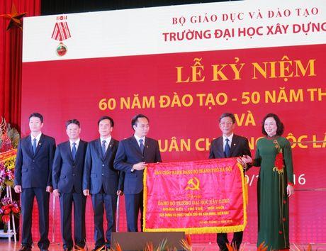 Truong Dai hoc Xay dung don nhan Huan chuong Doc lap hang Nhat - Anh 7
