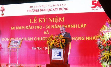 Truong Dai hoc Xay dung don nhan Huan chuong Doc lap hang Nhat - Anh 9